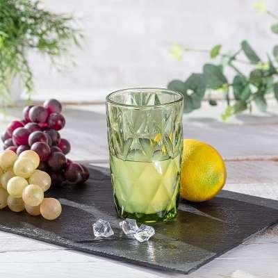 Glas Basic Green 350ml Gläser - Dekoria.de