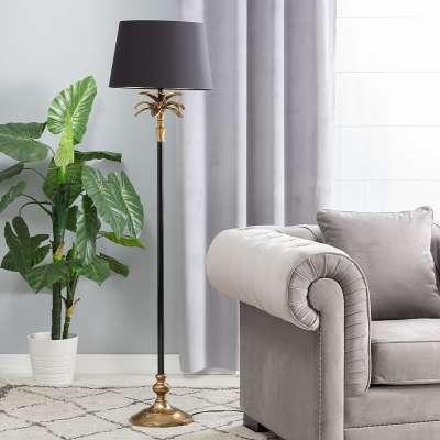 Lampa podłogowa Palm Gold 157cm Lampy podłogowe - Dekoria.pl