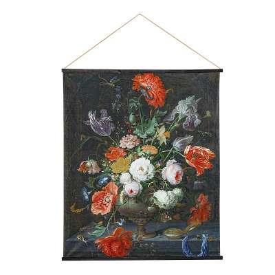 Kakemono Flowers 124 x 148 cm Wandobjekte - Dekoria.de
