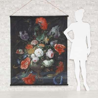 Kakemono Flowers 124 x 148 cm Bilder - Dekoria.de