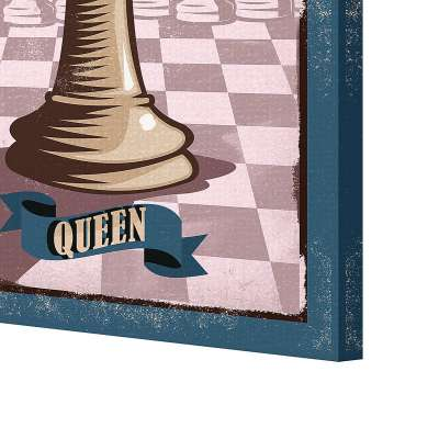 Obraz na płótnie Vintage Chess II
