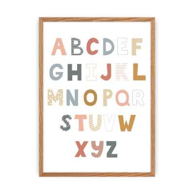 Obrazek Alfabet 30x40