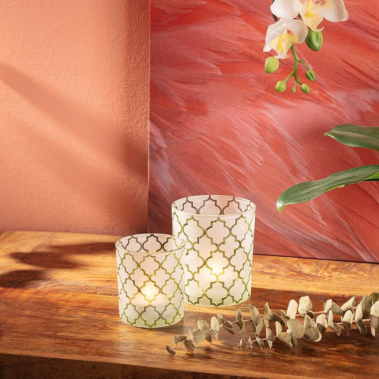 Teelichthalter Terra 10cm