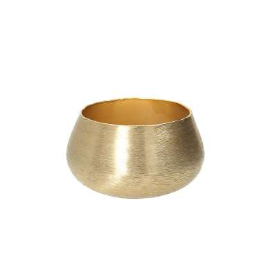 Świecznik Gina Gold 12cm