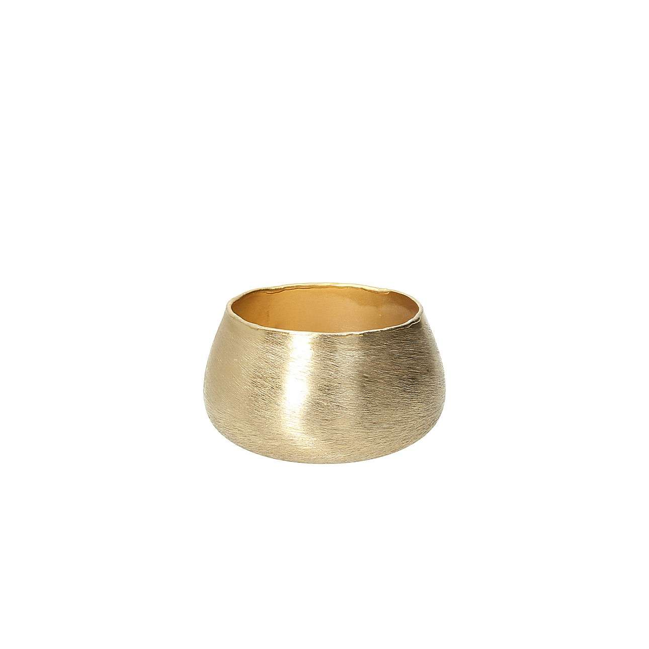 Świecznik Gina Gold 8cm