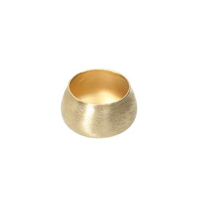 Leuchter Gina Gold 8cm