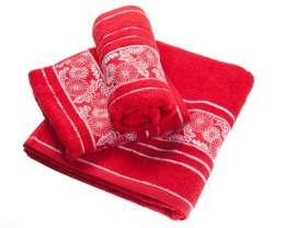 Ręcznik Castelo czerwony