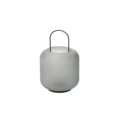 Leuchter/Laterne Pure 30cm grey