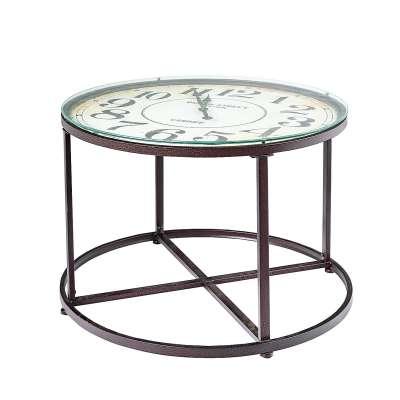 Beistelltisch Clock 80x57cm
