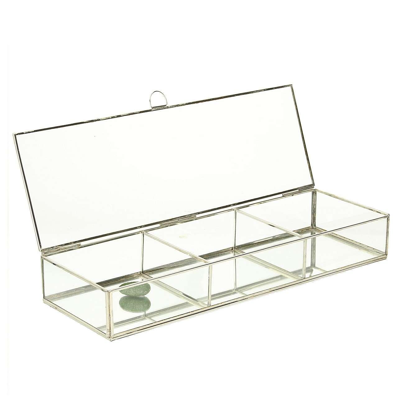 Szklana szkatułka Alessia 50x17x7,5cm
