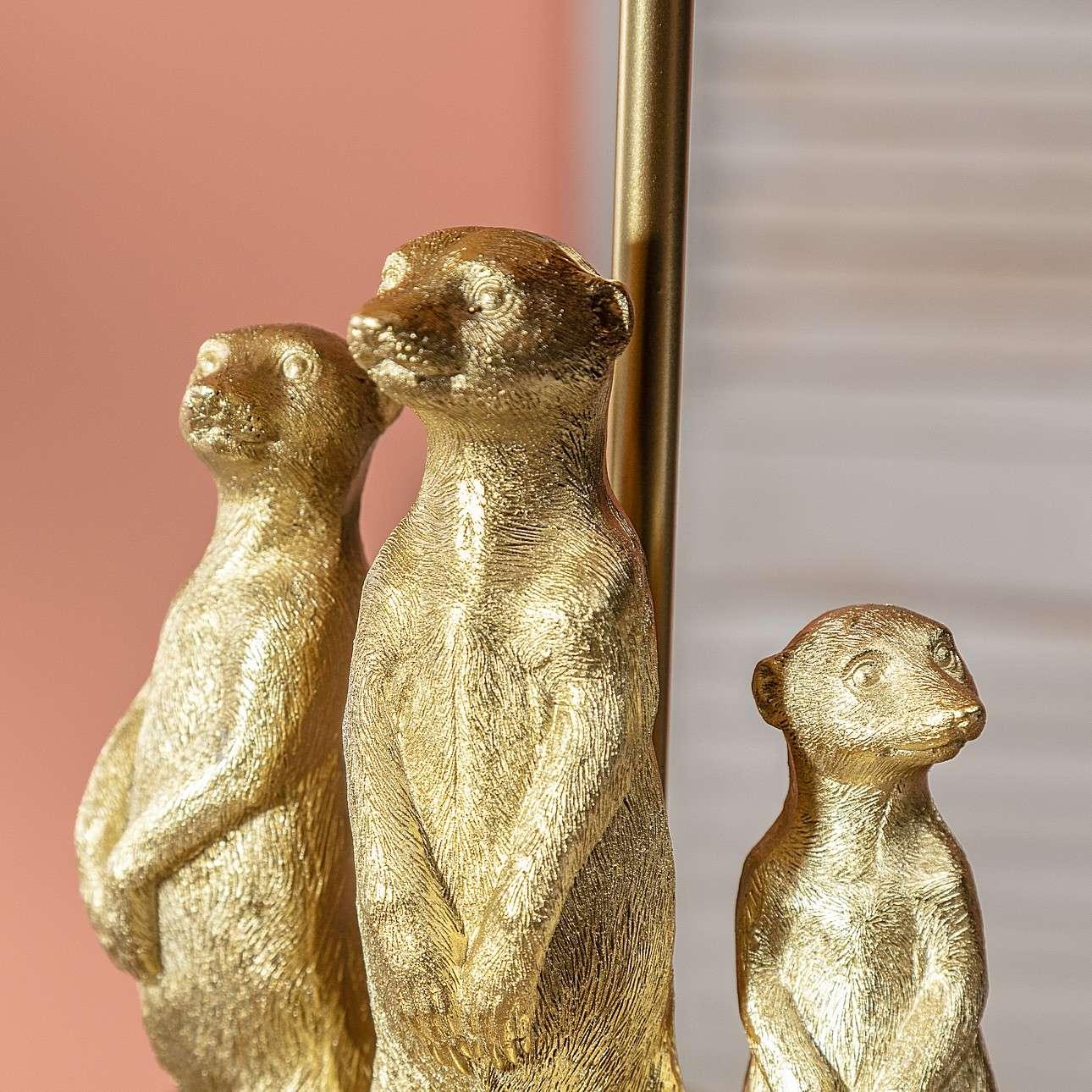 Tischlampe Meerkats 52cm