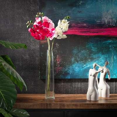 Kunstblume Orchidee light pink 65 cm