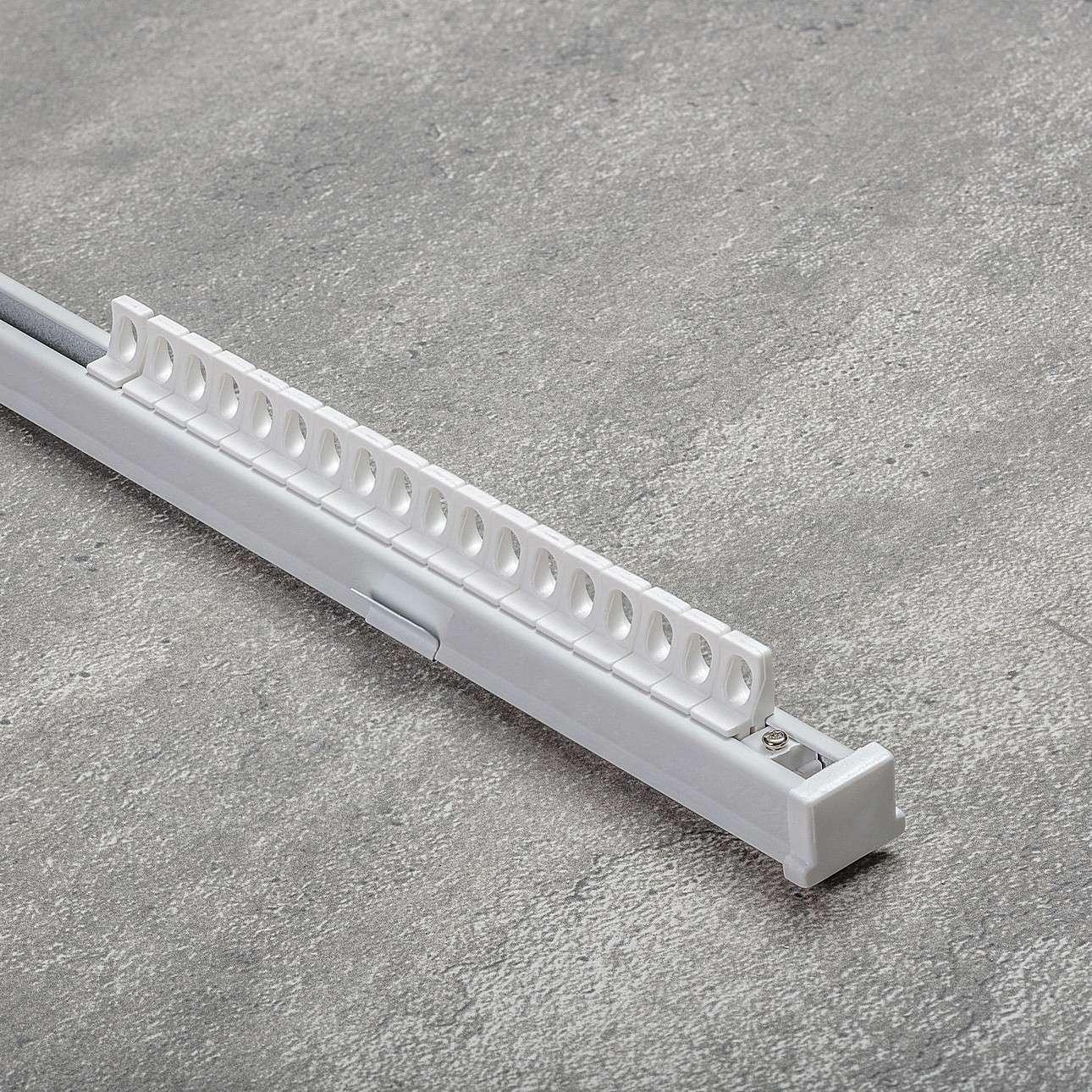 Komplet- szyna przysufitowa aluminiowa TS pojedyncza 150cm