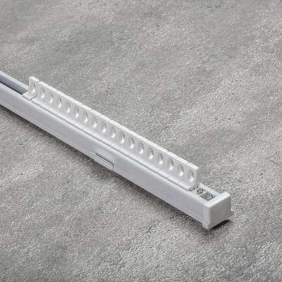 Komplet- szyna przysufitowa aluminiowa TS pojedyncza 210cm Szyny przysufitowe - Dekoria.pl