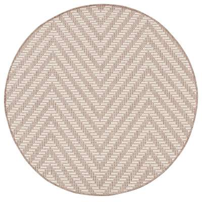 Teppich Lineo wool/mink 120cm