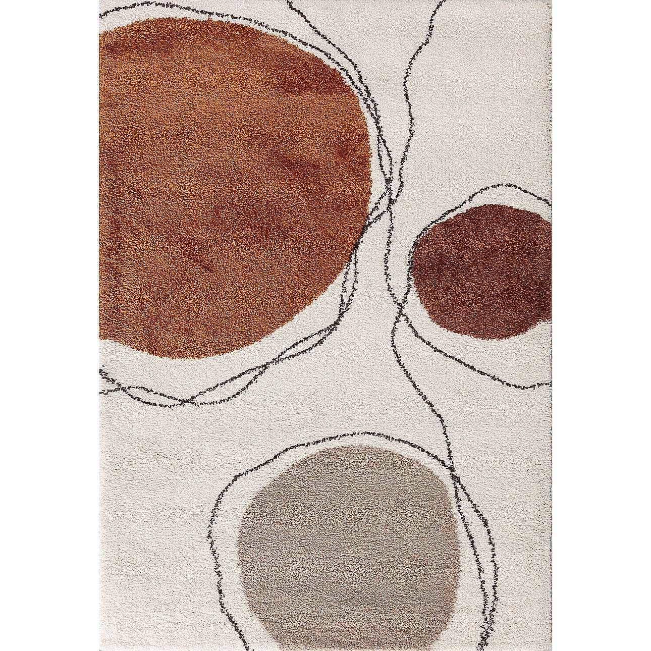 Dywan Royal Shapes cream/cognac 160x230cm