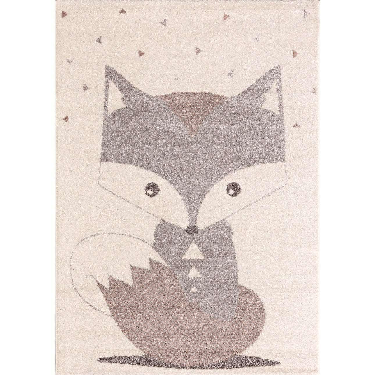 Teppich Cute Fox dim color 120x170