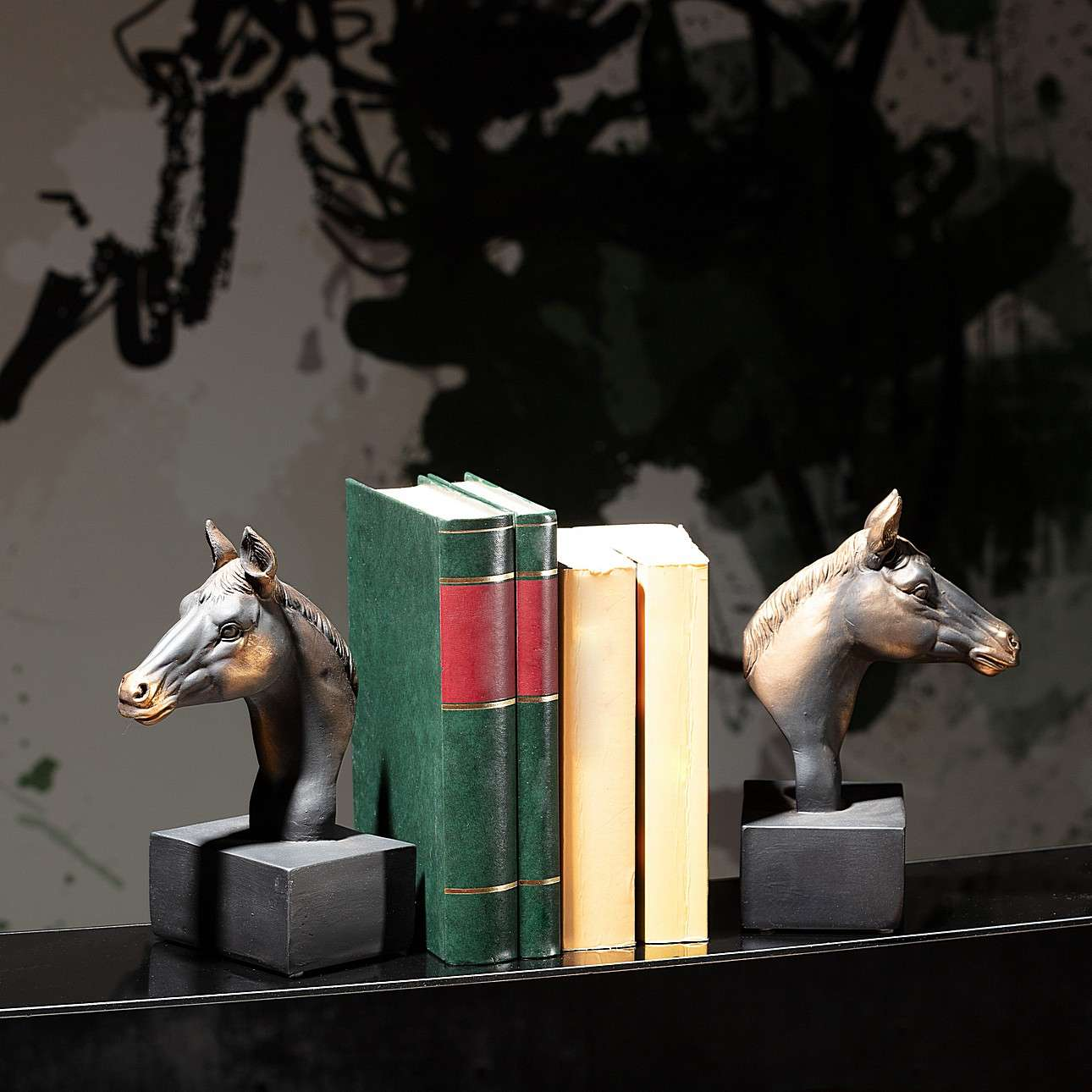 Podpórki do książek Horse 20cm