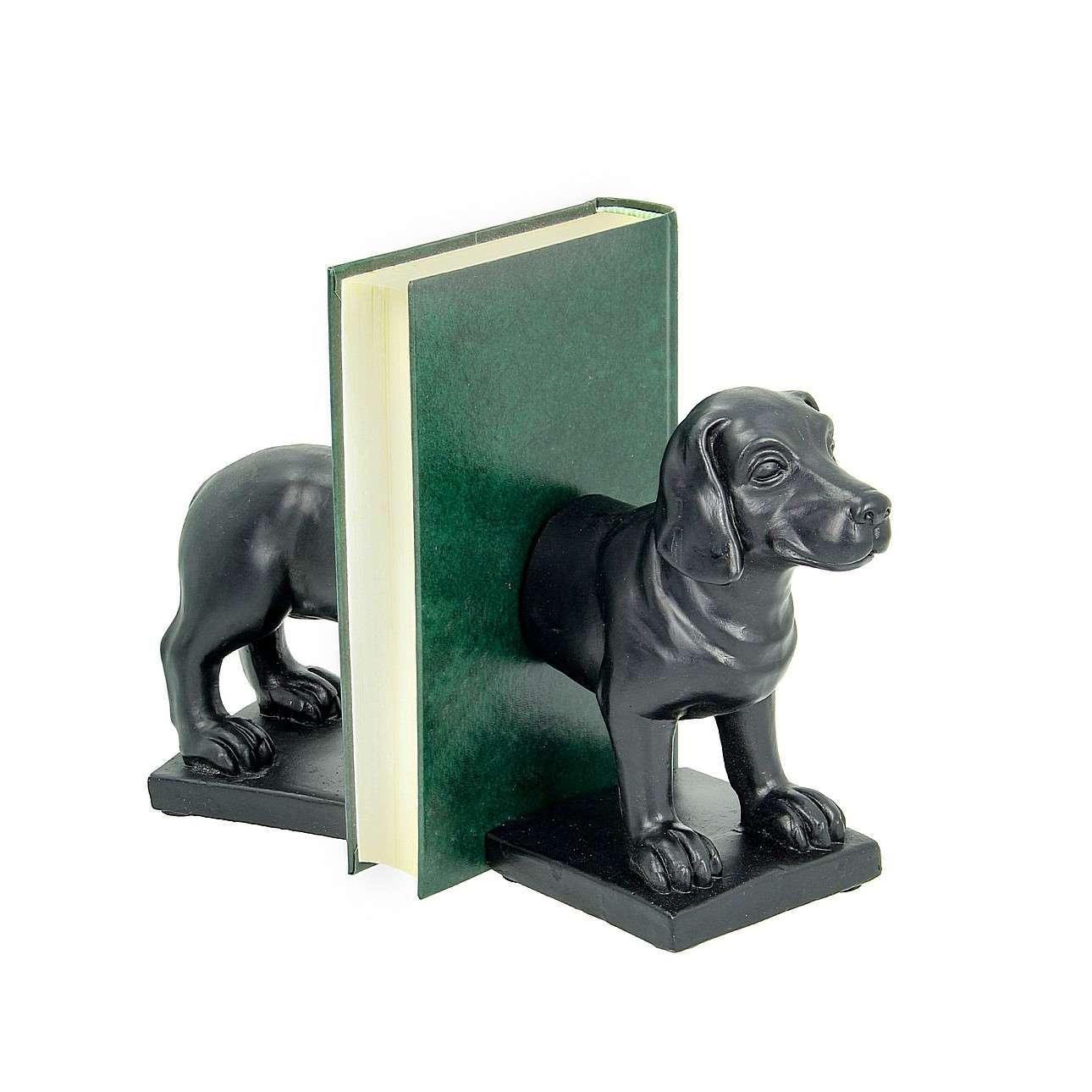 Buchstützen Dog 2 Stck. 18cm