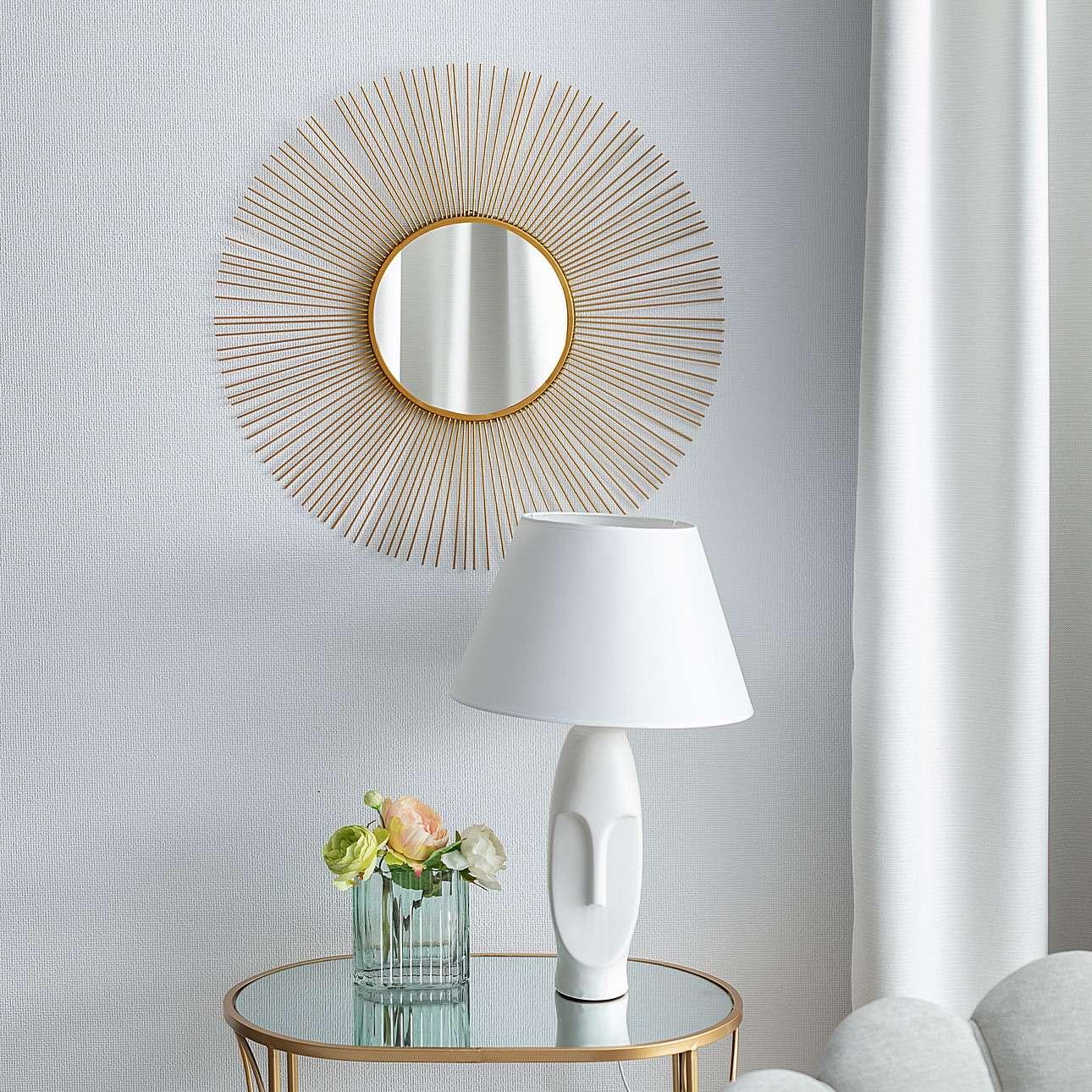 Lampa stołowa Urban white 59cm