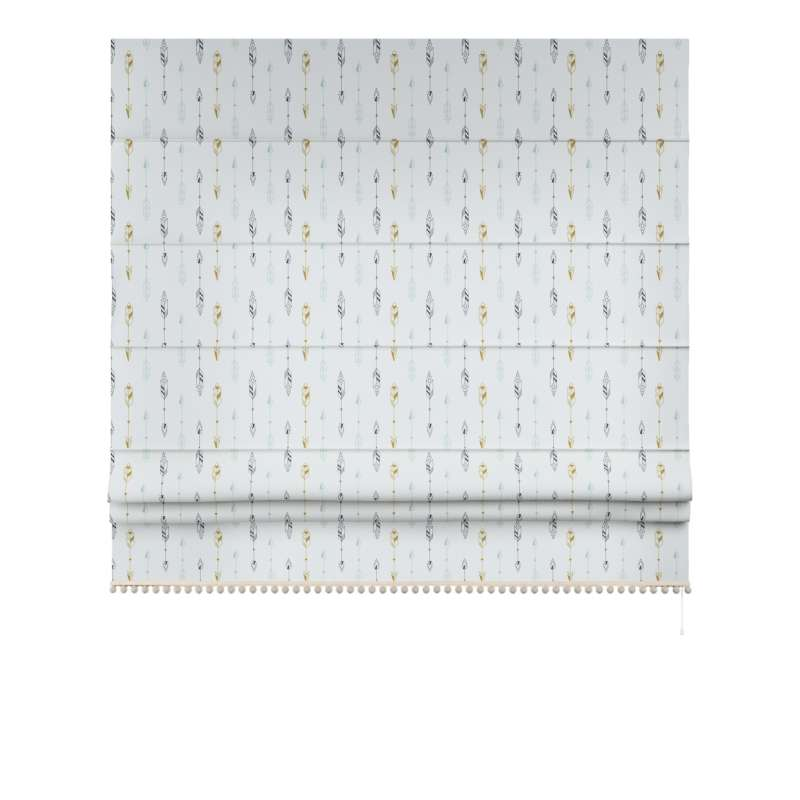 Roman blind with pompoms in collection Magic Collection, fabric: 500-07