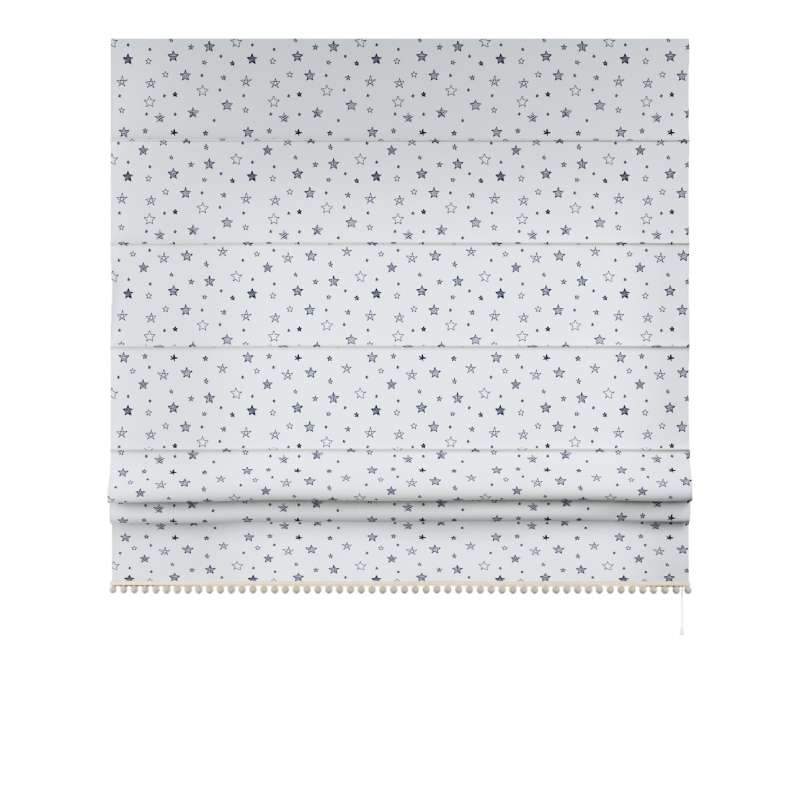 Roman blind with pompoms in collection Magic Collection, fabric: 500-08