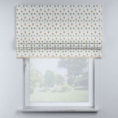 Roman blind with pompoms in collection Magic Collection, fabric: 500-09