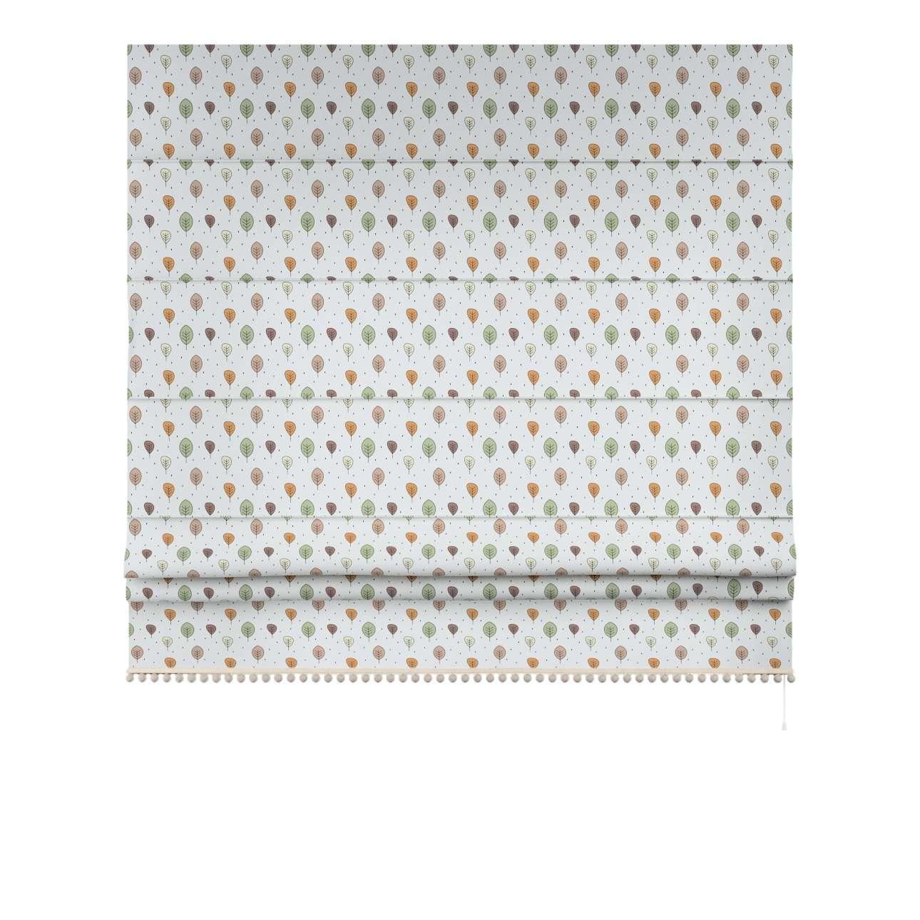 Raffrollo mit Bommeln von der Kollektion Magic Collection, Stoff: 500-09