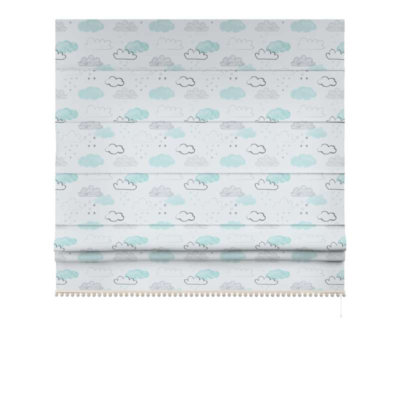 Roman blind with pompoms in collection Magic Collection, fabric: 500-14