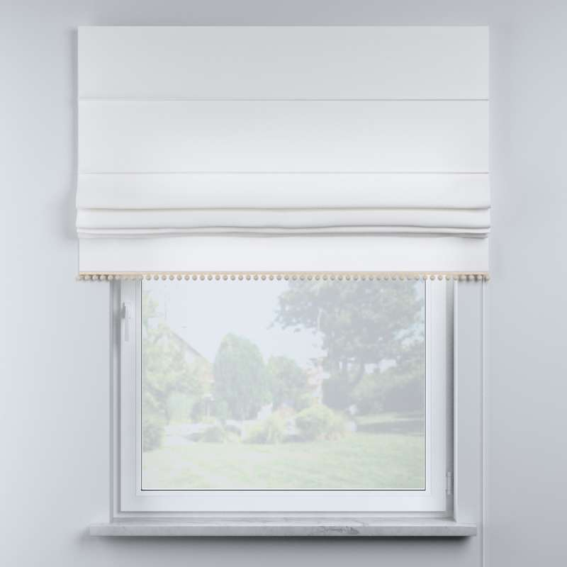 Roman blind with pompoms in collection Happiness, fabric: 133-02