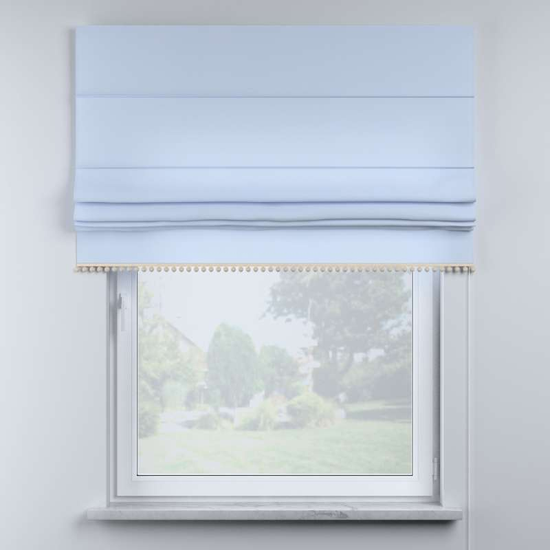 Roman blind with pompoms in collection Happiness, fabric: 133-35