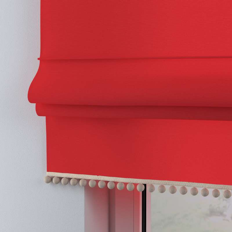 Roman blind with pompoms in collection Happiness, fabric: 133-43