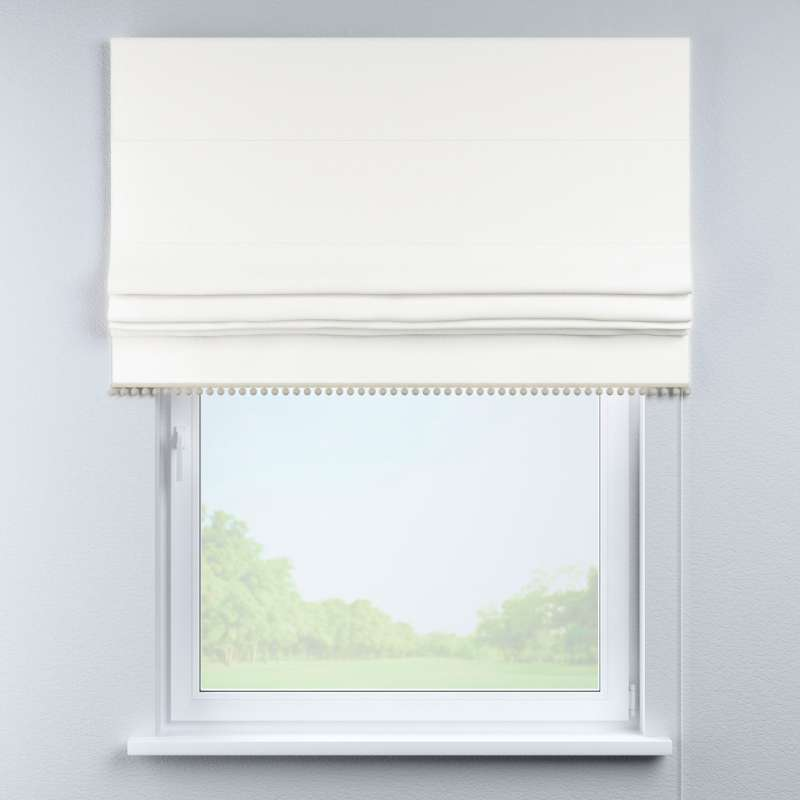 Roman blind with pompoms in collection Cotton Story, fabric: 702-34
