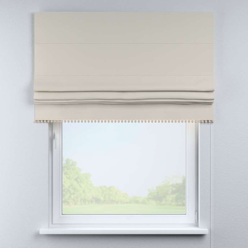 Roman blind with pompoms in collection Cotton Story, fabric: 702-31