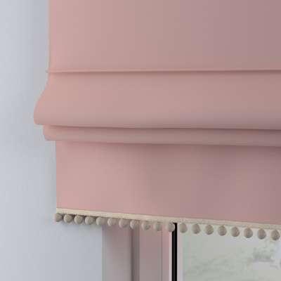 Římská roleta s bambulkami 133-39 pestrá růžová Kolekce Happiness
