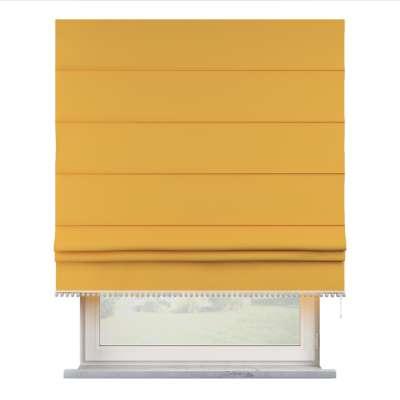 Římská roleta s bambulkami 133-40 slunečně žlutá Kolekce Happiness