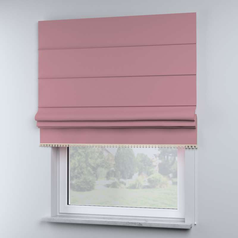 Roman blind with pompoms in collection Happiness, fabric: 133-62