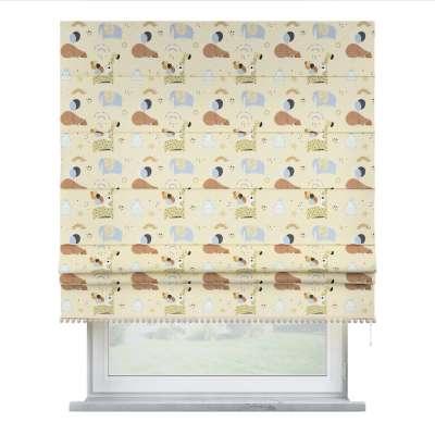 Raffrollo mit Bommeln 500-46 beige Kollektion Magic Collection