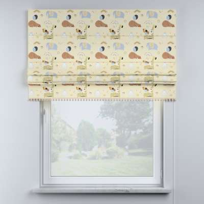 Raffrollo mit Bommeln von der Kollektion Magic Collection, Stoff: 500-46