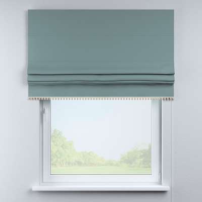 Roman blind with pompoms in collection Cotton Story, fabric: 702-40