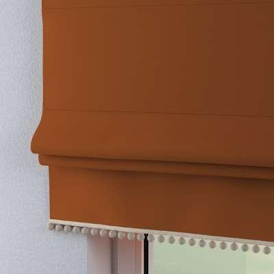 Raffrollo mit Bommeln 702-42 karamell Kollektion Cotton Story