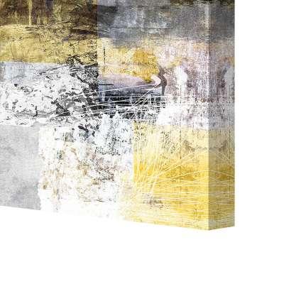 Obraz na płótnie Yellow Abstract