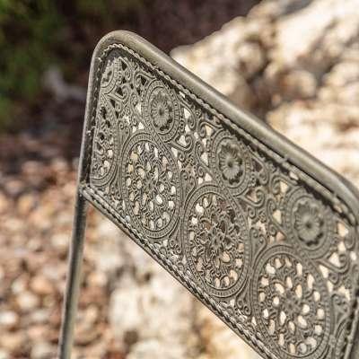 Gartenmöbel-Set Zoe Tisch + 2 Stühle
