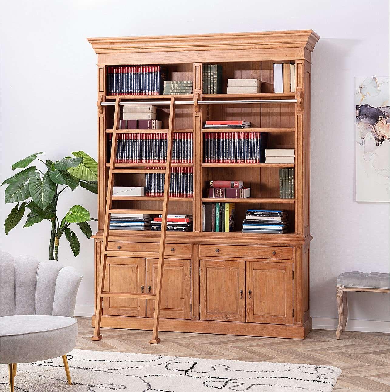 Bücherregal Library 186x42x238cm