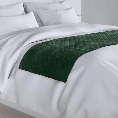 Hotelový přehoz na postel- běhoun Velvet 704-13 lahvová zeleň Kolekce Velvet
