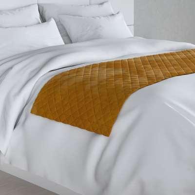 Hotelový přehoz na postel- běhoun Velvet 704-23 medová Kolekce Velvet