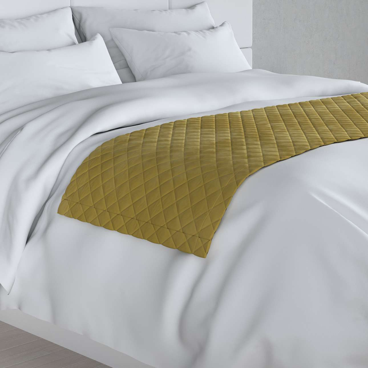 Narzuta hotelowa bieżnik Velvet 60x200cm w kolekcji Velvet, tkanina: 704-27