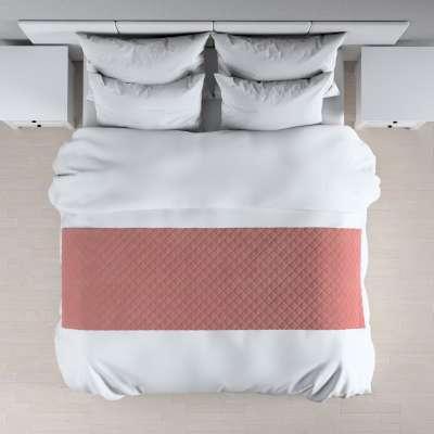 Hotelový přehoz na postel- běhoun Velvet 704-30 korálová růžová Kolekce Velvet