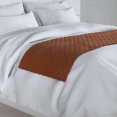 Hotelový přehoz na postel- běhoun Velvet 704-33 rezavá Kolekce Velvet
