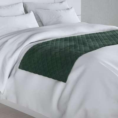 Hotelový přehoz na postel- běhoun Velvet 704-25 tmavá lesní zeleň Kolekce Christmas